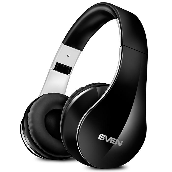 SVEN SV-012694 AP-B450MV Наушники накладные с микрофоном беспроводные Bluetooth стерео, черные