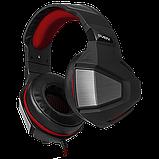 SVEN SV-016364 AP-G890MV Игровые стерео наушники с микрофоном, цвет черный-красный, фото 3