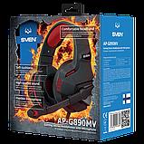 SVEN SV-016364 AP-G890MV Игровые стерео наушники с микрофоном, цвет черный-красный, фото 4