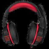 SVEN SV-016364 AP-G890MV Игровые стерео наушники с микрофоном, цвет черный-красный, фото 6