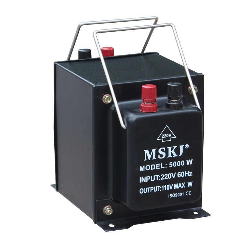 Понижающий трансформатор TC-5000 VA 110/220 220/110