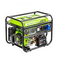 Генератор бензиновый БС-6500Э, 5,5 кВт, 230В, 4-х такт., 25 л, электростартер// Сибртех