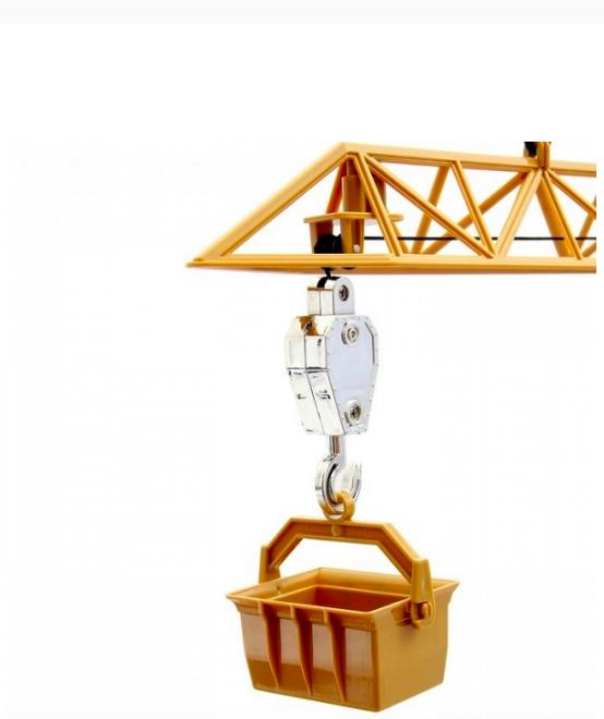 Игровой кран с подвижной башней на пульту 120 см. - фото 3