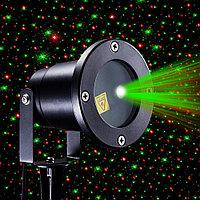 Лазерный проектор Red & Green Waterproof Laser Shower, фото 1