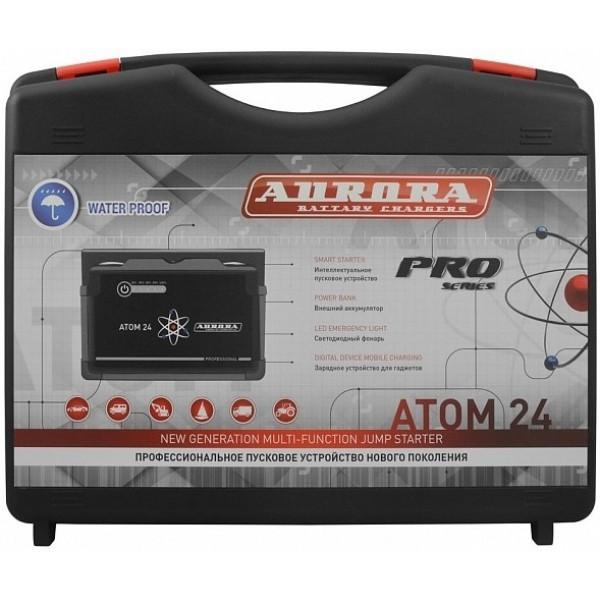 Пуско-зарядное устройство для автомобиля Aurora ATOM 24 (24000 mAh)