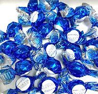 Шоколадные конфеты начинка молочный крем (Синие)   1кг