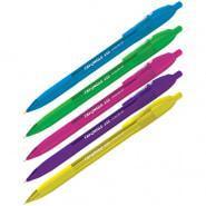 """Ручка шариковая автоматическая Berlingo """" Trangle 110 RT Color"""" синяя, 0.7 мм."""