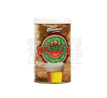 Muntons Lager, 1,5 кг.
