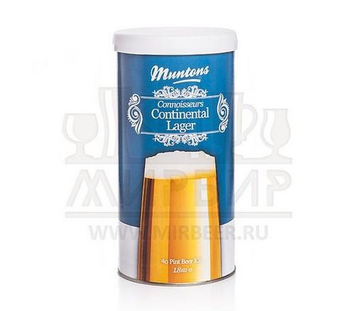 Muntons Continental Lager, 1,8 кг.