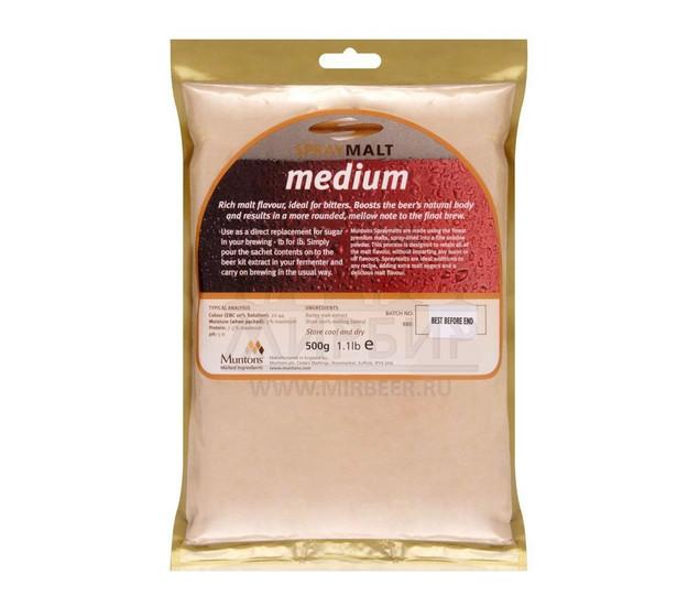 Неохмеленный экстракт Muntons Medium, 0,5 кг