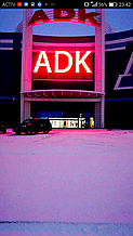 Медиафасад пиксельный тц АДК