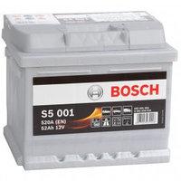 """BOSCH Аккумулятор 52Ah  552401   """"-  +""""  207x175x175  0092S50010"""