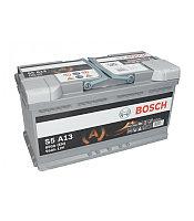 """BOSCH Аккумулятор 95Ah  595901   """"-  +""""  353x175x190 AGM  0092S5A130"""