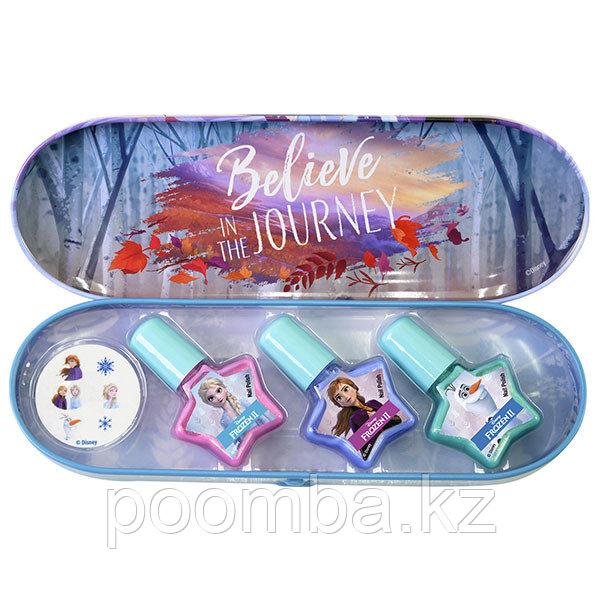 Frozen Игровой набор детской декоративной косметики для ногтей в пенале.