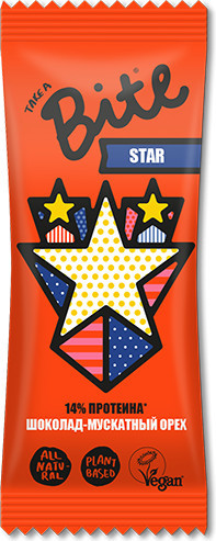 Батончик фруктово-ореховый «Star»