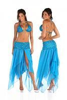 Костюм для арабских танцев  - Бирюзовый
