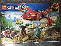 Конструктор Bela City 11214 Пожарный самолёт