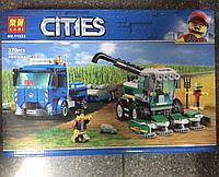 Конструктор Bela City 11223 Транспортировщик для комбайнов