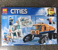 Конструктор Bela City 10995 Грузовик ледовой разведки