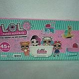Набор Куколка Лол с люлькой и ванной Реплика, фото 2