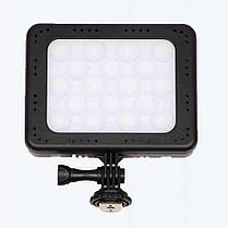 LED прожектор фонарь накамерный ZF-C18 цветной, фото 3