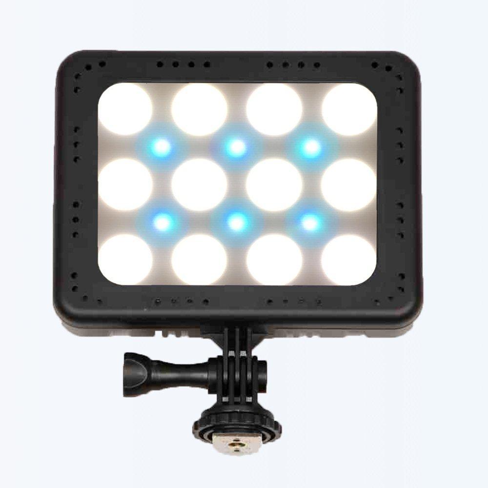 LED прожектор фонарь накамерный ZF-C18 цветной