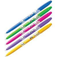 """Ручка шариковая Berlingo """"Blitz"""" синяя, 0,7мм, корпус ассорти"""