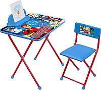 Детский стол и стул Ника Мстители Д2А