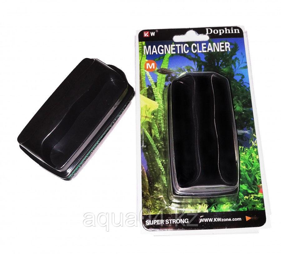 """Магнит для очистки стекол """"М""""  8х4 см"""