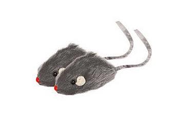 Игрушка для кошек Мышь серая