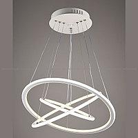 LED люстра в современном стиле Хай-тек 3 Кольца, фото 1