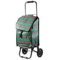 Тележка-сумка D203 Клетка 30кг 37х27х92см
