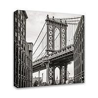 Картина Симфония 0109 Бруклинский мост; 30*30 см