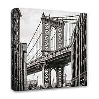 Картина Симфония 0025 Бруклинский мост; 40*40 см