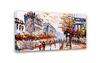 Картина Симфония 0084 Старинный город; 50*100 см