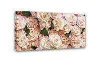 Картина Симфония 0002 Роскошные розы; 50*100 см