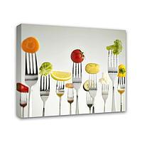 Картина Симфония 0061 Аппетитный обед; 40*50 см