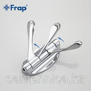 FRAP F209-3 Крючок настенный 3-ой подввижный, фото 2