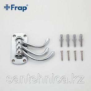 FRAP F208-3 Крючок настенный 3-ой подввижный, фото 2