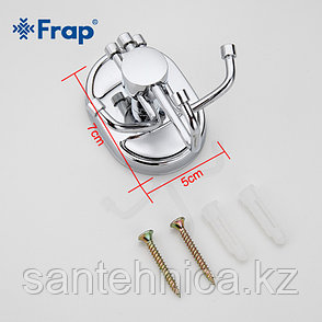FRAP F1905-3 Крючок тройной, фото 2