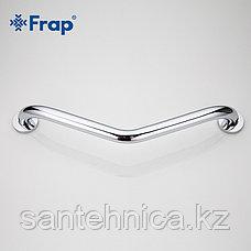 FRAP F1717 Поручень настенный изогнутый, фото 3