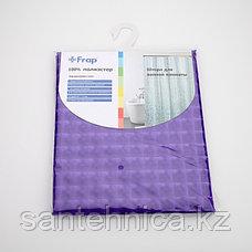 FRAP F8801 Шторка для ванны 180*180 полиэт. рисунок, фото 3
