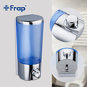 FRAP F406 Дозатор для жидкого мыла пластик синий 400 мл