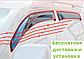 Ветровики на Volkswagen Golf все кузовы /дефлекторы боковых окон на Вольксваген Гольф все кузовы, фото 2