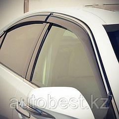 Ветровики на Mitsubishi Outlander все кузовы/дефлекторы боковых окон на Митсубиси Оутлендер Аутлендер