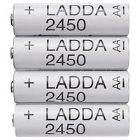 Аккумуляторная батарейка ЛАДДА, HR6 AA 1,2 В  ИКЕА IKEA