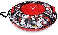 Тюбинг принтованный Ника Экстрим красный ТБ2К-95 (диаметр чехла 1040 мм), фото 1