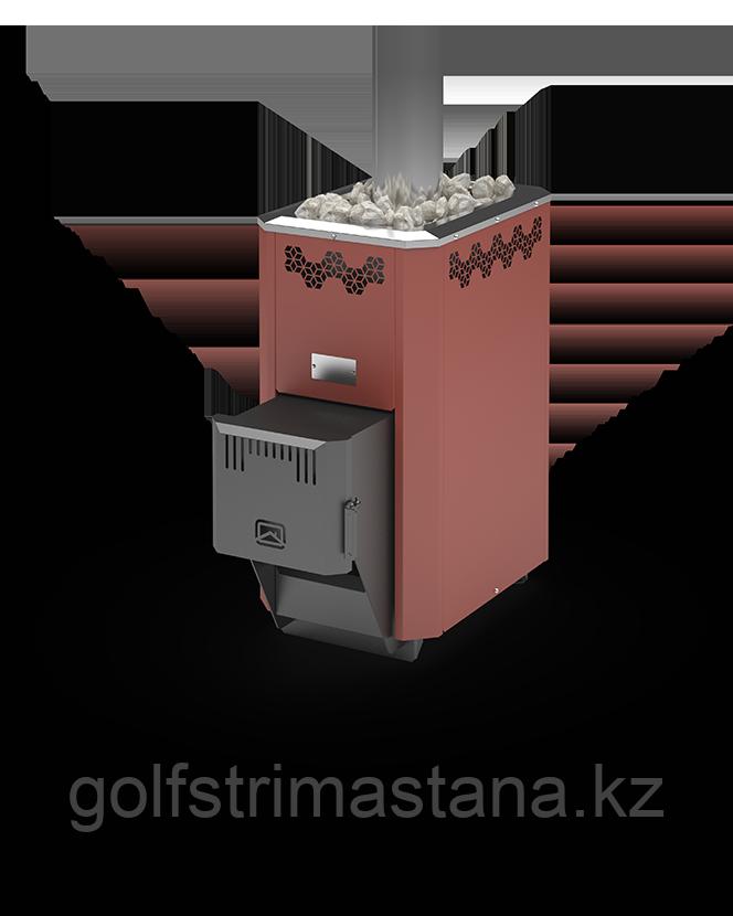 Печь угольная для бани и сауны Кузбасс Оптима-9 ТК