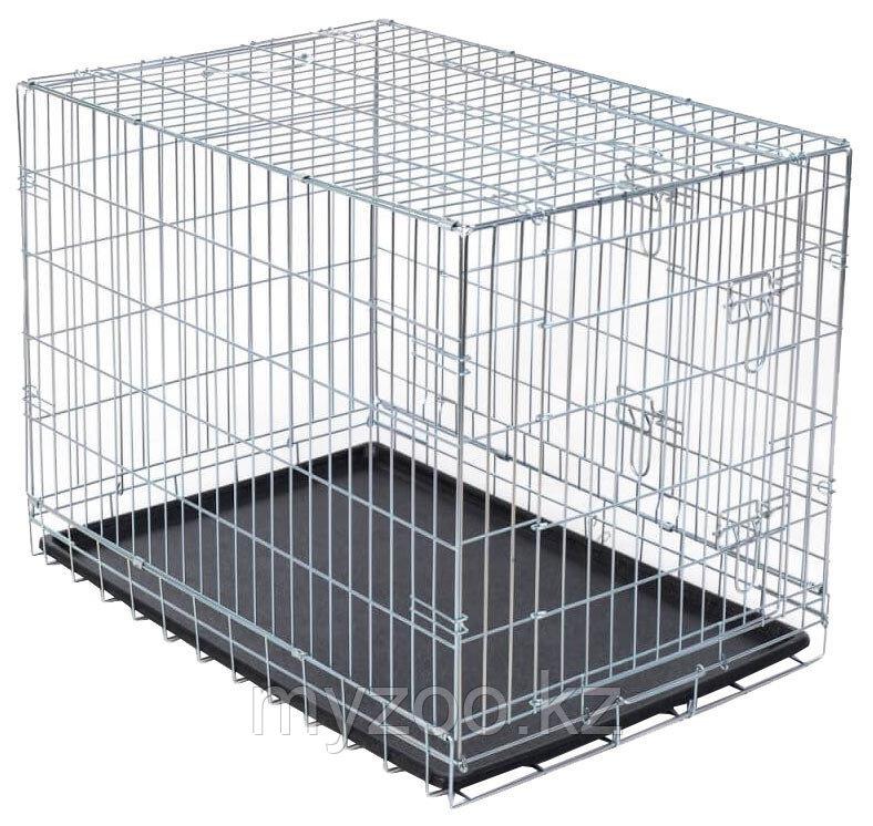 Клетка метал-я, для кошек и собак,116 × 86 × 77 cm