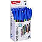 """Ручка шариковая Berlingo """"Trangle 1001 Elements"""", синяя, 0,7 мм, игольчатый стержень, фото 2"""